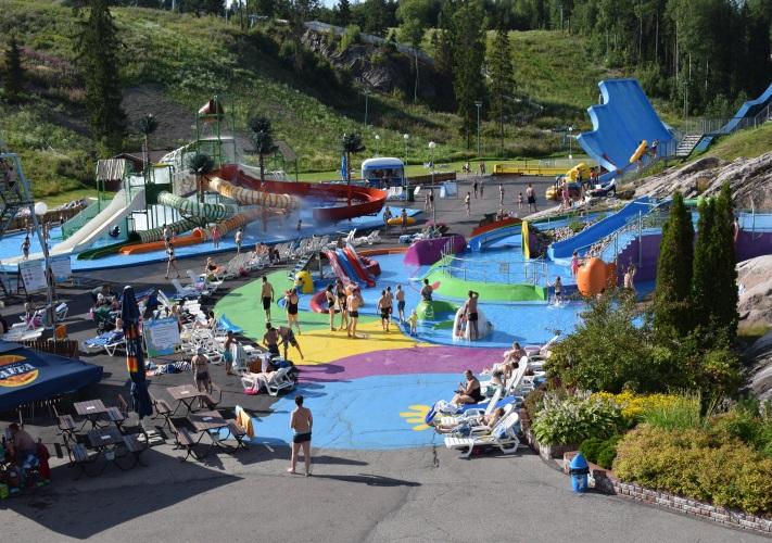 Pools & slides